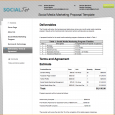 social media marketing proposal social media marketing proposal template