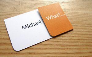social media on business cards businesscard