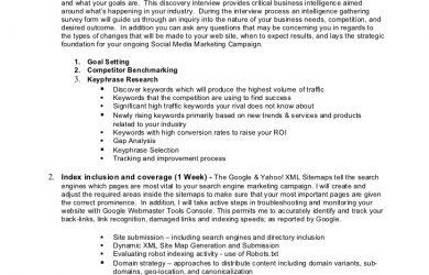 social media proposal social media marketing proposal