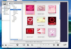 social media report templates snowfox greeting card maker
