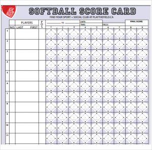 softball score sheet download softball score sheet template