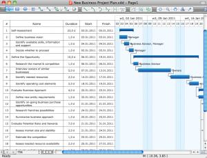 software developement plan business project plan