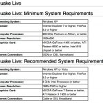 software requirements document template quake live system requirements