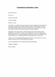 solicitation letter sample solicitation letter x
