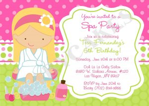 spa party invitations il fullxfull