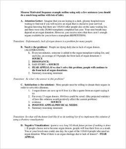 speech outline format new persuasive speech outline template
