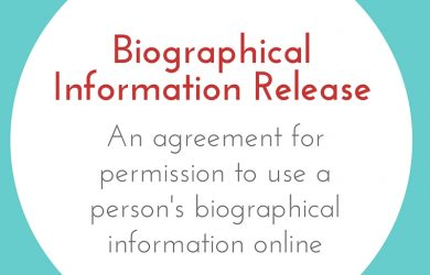 sponsorship agreement template biographical info release