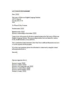 sponsorship letter template sponsorship letter template