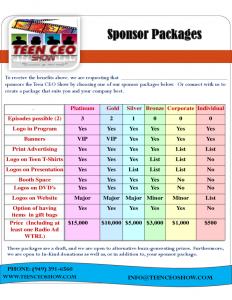 sponsorship package template doc sponsorship proposal package sample sponsorship