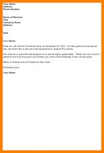 sponsorship package template solicitation letter tagalog