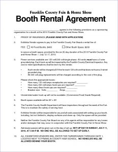 sponsorship proposal letter salon booth rental agreement weeklyplannerwebsite