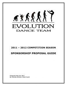 sponsorship proposal letter evolutiondanceteamsponsorshipproposal
