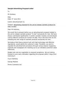 sponsorship proposal letter unit merit letter correction exercise