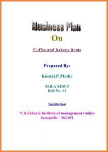 sponsorship proposal template a business plan cover page front page cb
