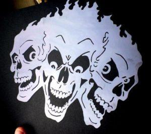 spray paint art stencils $