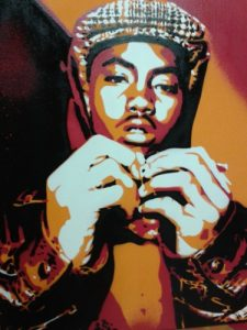 spray paint art stencils nas custom painting stencils spray paints hip hop rap newyork america urban wall art gift music culture queens illmatic hand made bdc