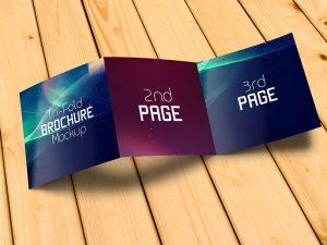 square business card mockup free tri fold brochure mockup psd file