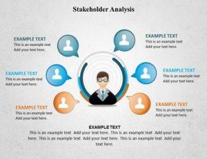 stakeholder analysis templates slide