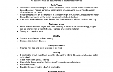 standard operating procedure example standard operating procedures examples