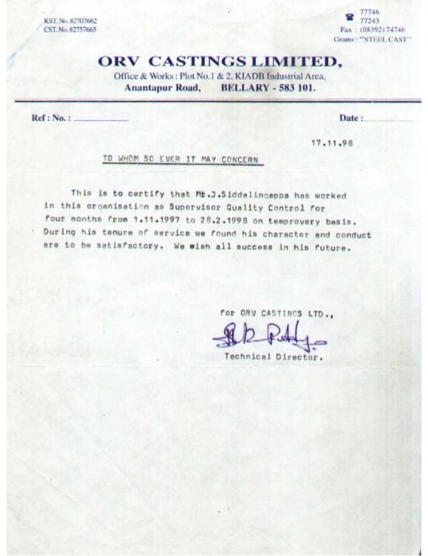 standard resignation letters
