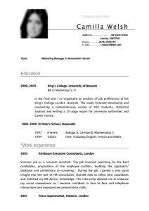 standard resignation letters ffbdfbfc student resume cv template