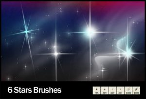 star brushes photoshop cs star brushes