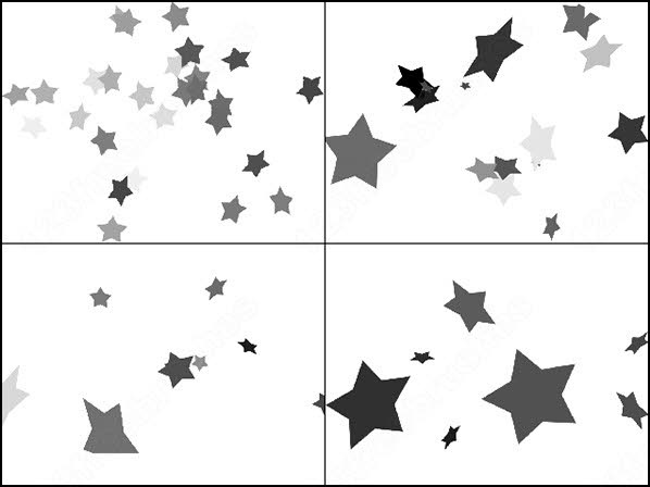 star brushes photoshop