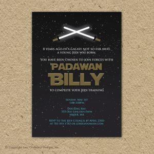 star wars birthday invitation il fullxfull asu