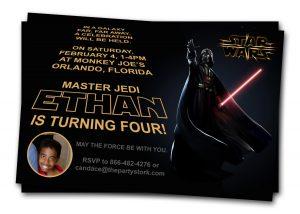 star wars birthday invitations il fullxfull