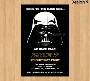 star wars invitations il fullxfull uoo