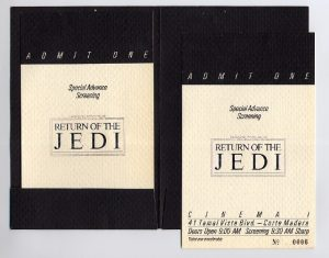 star wars invitations template rotj premiere invite