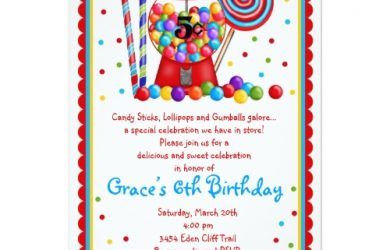 star wars party invitations gumball machine and candy invitation pdjg
