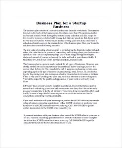 startup business plan example startup business plan example