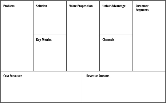 startup business plan template pdf