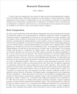 statement of work sample research statement analysis