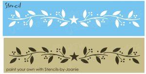 stencil font free s l