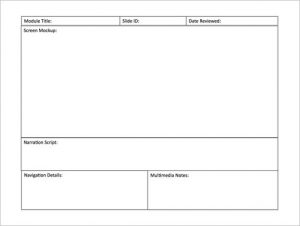 storyboard template powerpoint powerpoint storyboard template free download