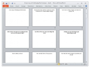 storyboard template powerpoint tmp