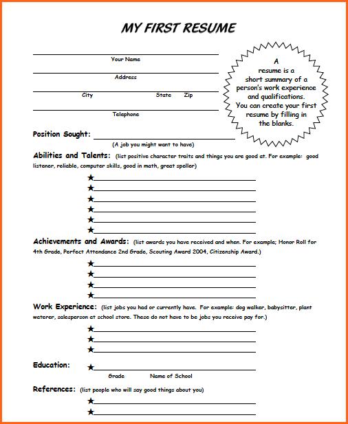 student budget worksheet