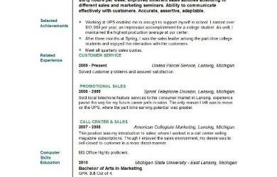 student resume example example student resume