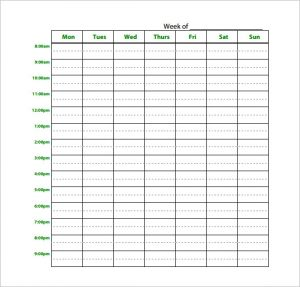 study schedule maker download blank weekly study schedule planner pdf download