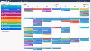 study schedule maker monthly timetable