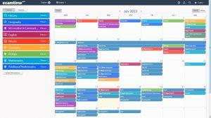 study schedule maker template business