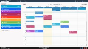 study schedule maker weekly timetable