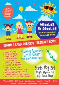 summer camp flyer summer camp flyer ideas