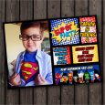 superhero birthday invitations creative superhero birthday invitation with custom photograph