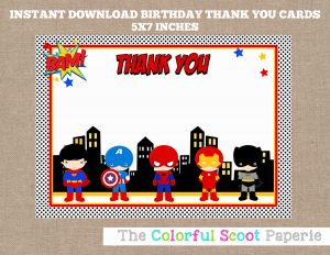 superhero invitation template il fullxfull mr