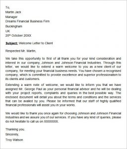 support letter for a friend welcome letter format