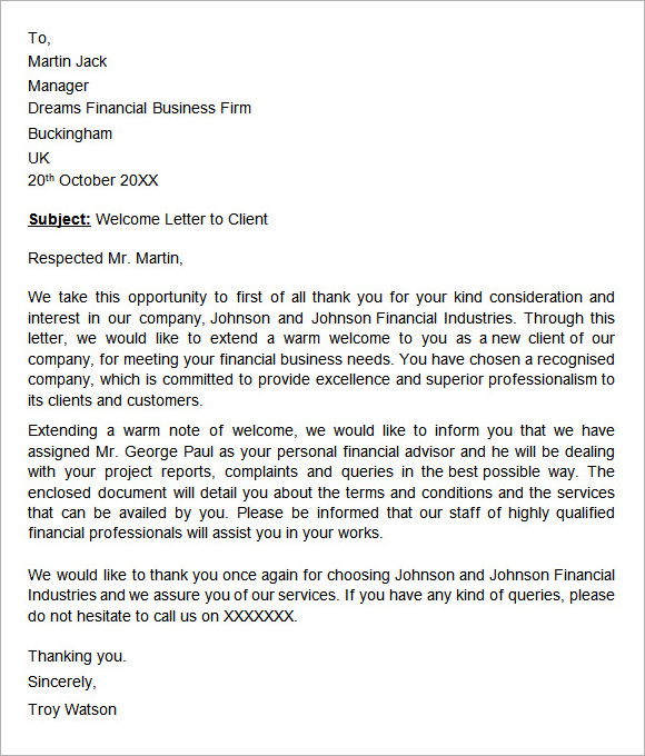 Support Letter For A Friend Template Business