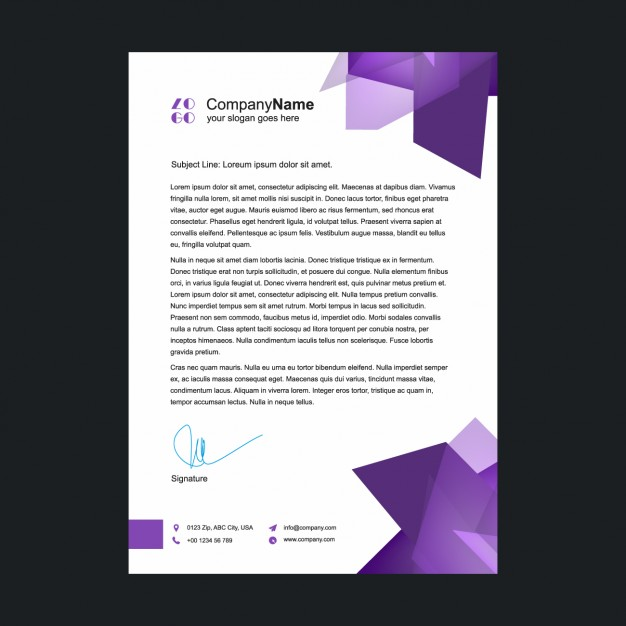 support letter template